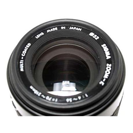 Sigma 70-210mm F4-5.6 - Contax SLR thumbnail