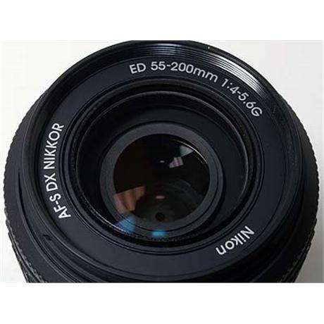 Nikon 55-200mm F4-5.6 AFS DX G thumbnail