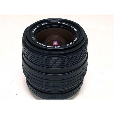 Sigma 35-80mm F4-5.6  thumbnail
