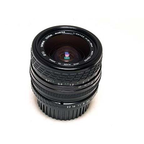 Sigma 35-70mm F3.5-4.5  thumbnail