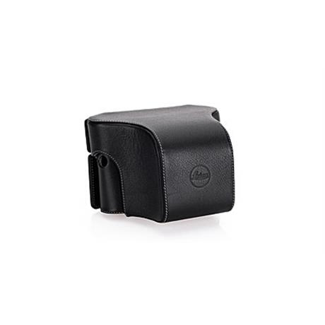 Leica Soft Case short front leather - Black 14893 thumbnail
