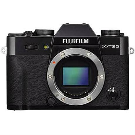 Fujifilm X-T20 Body Only - Black thumbnail