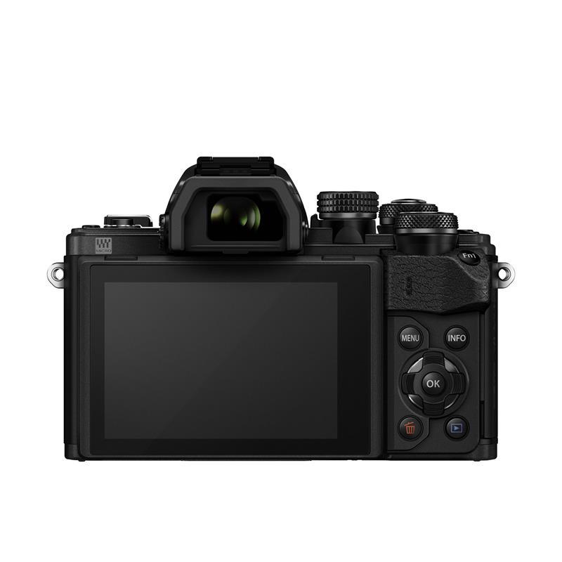 Olympus OM-D E-M10 II Twin Kit - Black Thumbnail Image 3