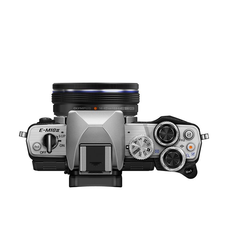 Olympus OM-D E-M10 II Twin Kit - Silver Thumbnail Image 1