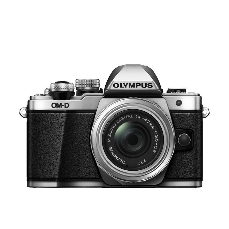 Olympus OM-D E-M10 II Twin Kit - Silver Thumbnail Image 3