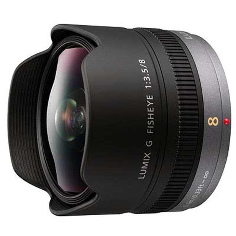 Panasonic 8mm F3.5 Lumix G Fisheye  Image 1