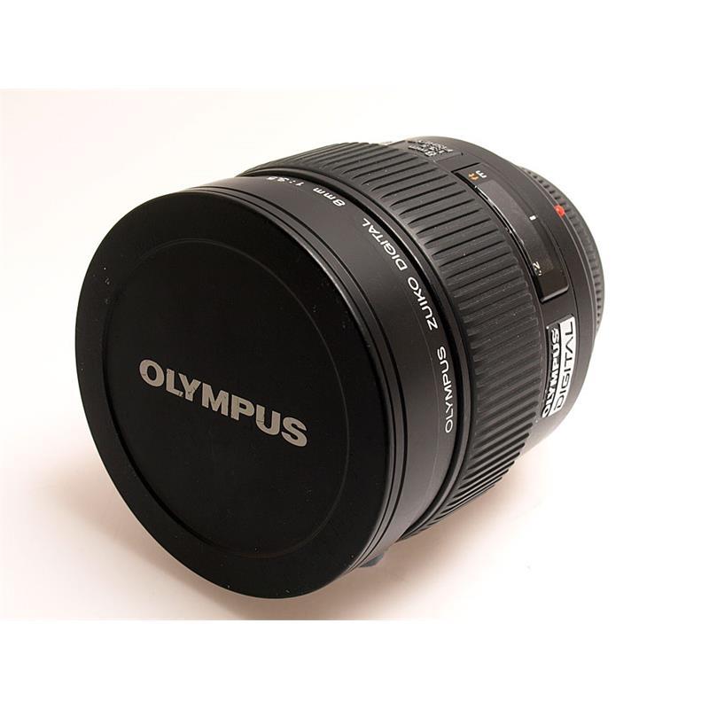 Olympus 8mm F3.5 FishEye ED Zuiko Thumbnail Image 0