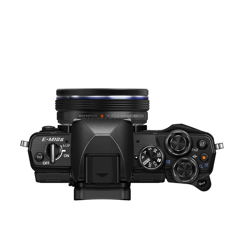 Olympus OM-D E-M10 II + 14-42mm EZ Pancake Zoom Kit - Black Thumbnail Image 1