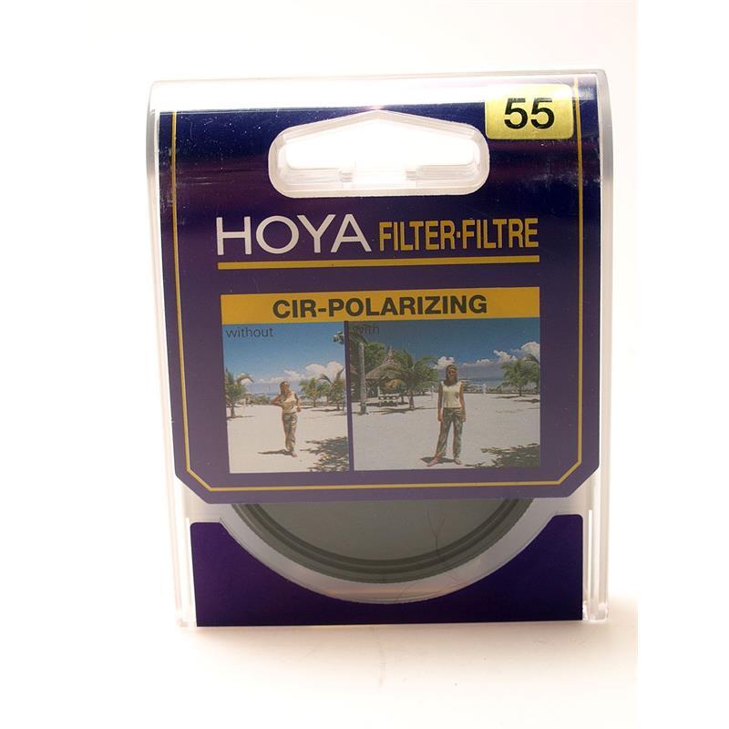Hoya 55mm Circular Polarizer (P) Image 1