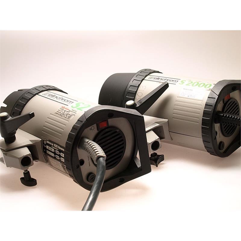Elinchrom S2 + S2000 Head + 3000 Battery Pack Thumbnail Image 0