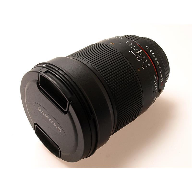 Samyang 24mm F1.4 AE ED AS UMC - Pentax AF Thumbnail Image 0
