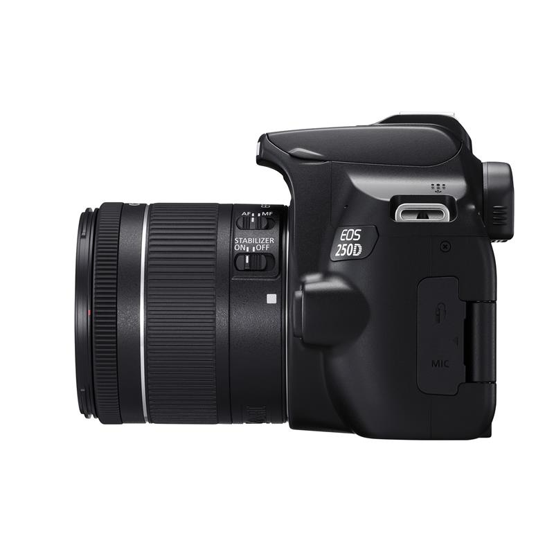 Canon EOS 250D + 18-55mm F4-5.6 IS STM EF-S Thumbnail Image 2