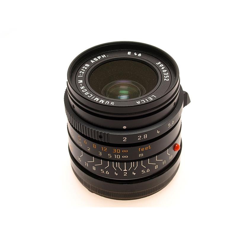 Leica 28mm F2 Asph M Black Thumbnail Image 0
