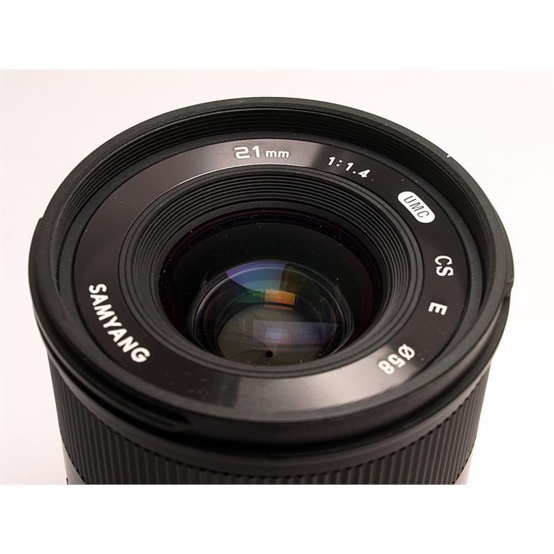 Samyang 21mm F1.4 ED AS UMC CS - Sony-E Thumbnail Image 1