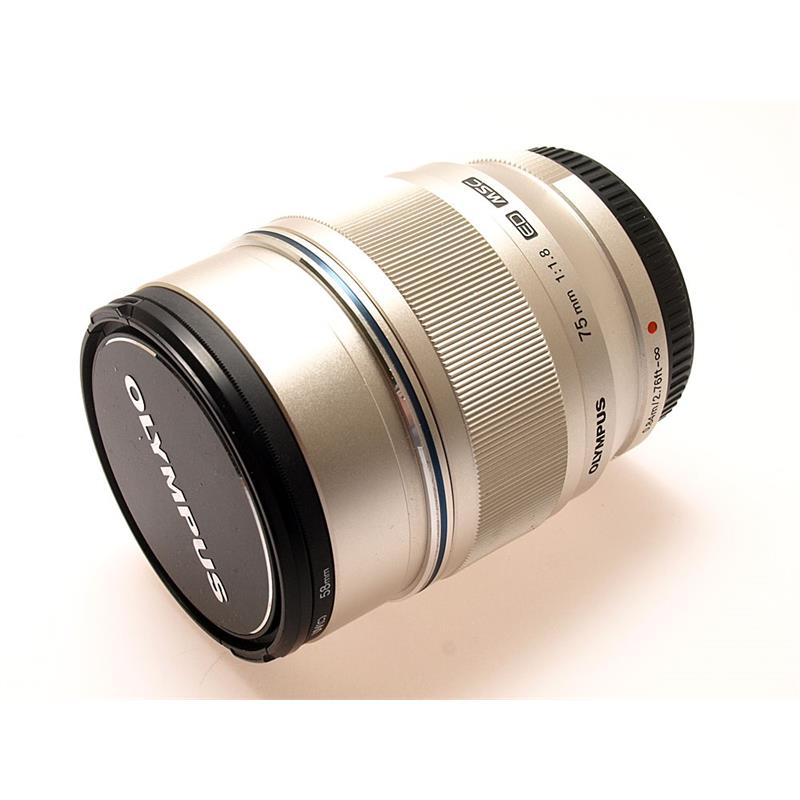 Olympus 75mm F1.8 ED M.Zuiko - Silver Thumbnail Image 0