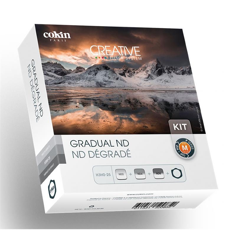 Cokin Gradual ND Kit with Filter Holder - P Series (M) Image 1
