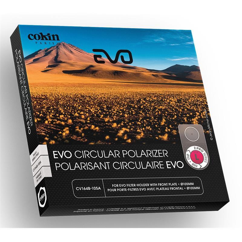 Cokin 105mm Circular Polarising Filter EVO - Z Pro Series (L) Thumbnail Image 0