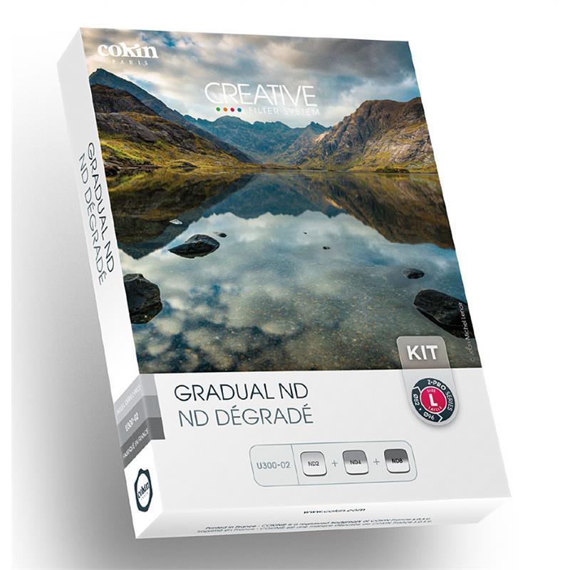 Cokin Gradual ND Kit (U300-02) - Z Pro Series (L) _SALE Image 1