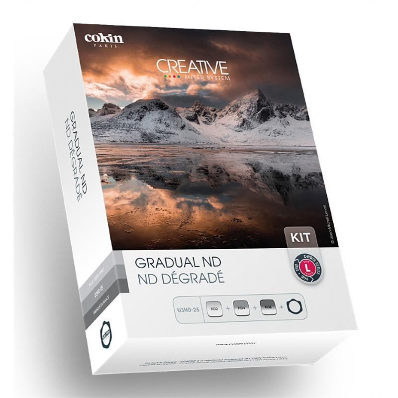 Cokin Gradual ND Kit with Filter Holder (U3H025) - Z Pro Series (L) Image 1