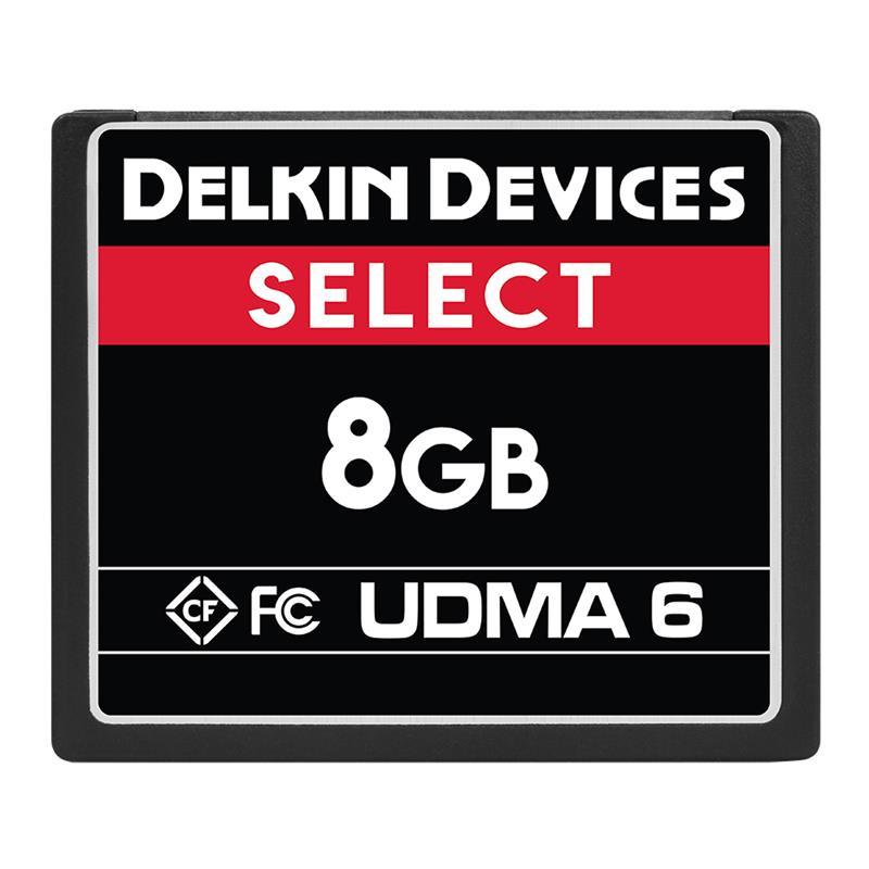 Delkin 8GB CF UDMA 6 Select 500x Image 1