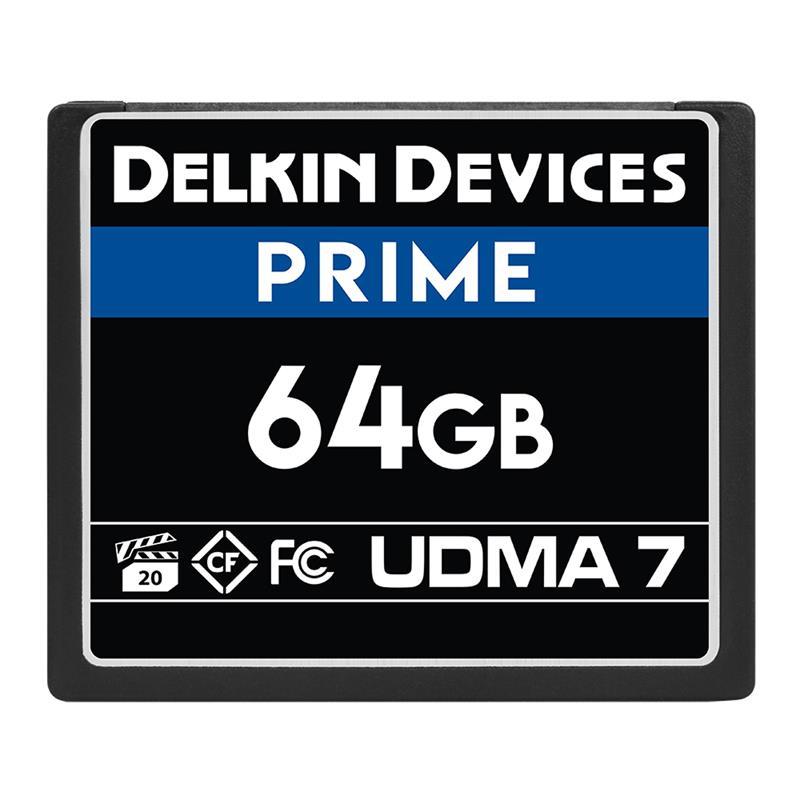 Delkin 64GB CF UDMA 7 Prime 1050x Image 1