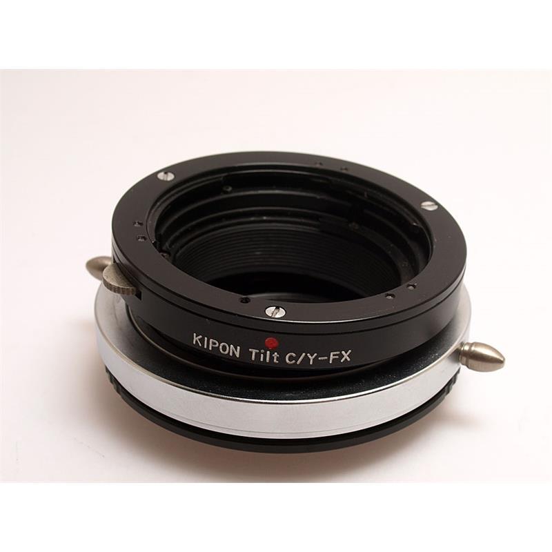 Kipon Contax - Fuji X Tilt Lens Mount Adapter Image 1