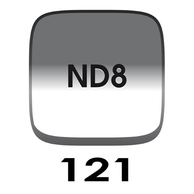 Cokin P121 Grey Grad G2 (ND8) - P Series (M) Thumbnail Image 0
