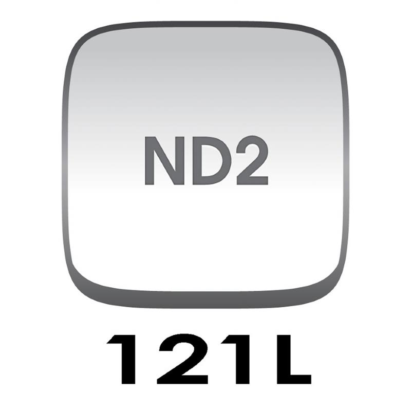 Cokin P121L Grey Grad G2 LT (ND2) - P Series (M) Thumbnail Image 0