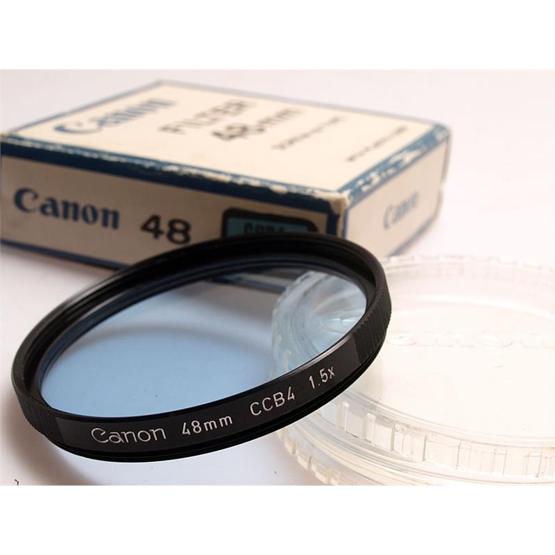 Canon 48mm CCB4 Blue Image 1