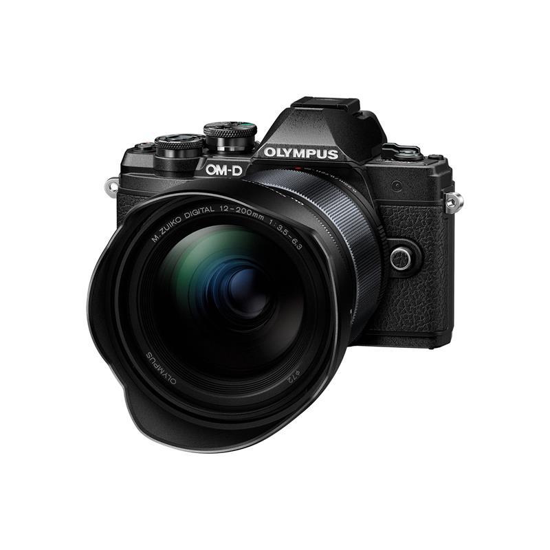 Olympus OM-D E-M10 III + 12-200mm - Black Thumbnail Image 0