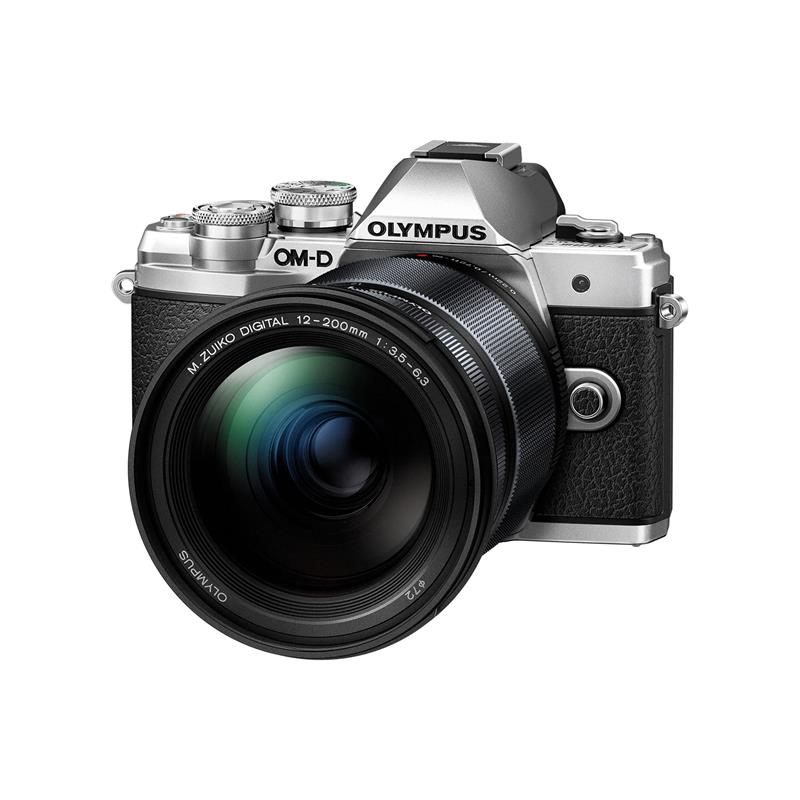 Olympus OM-D E-M10 III + 12-200mm - Silver Thumbnail Image 0