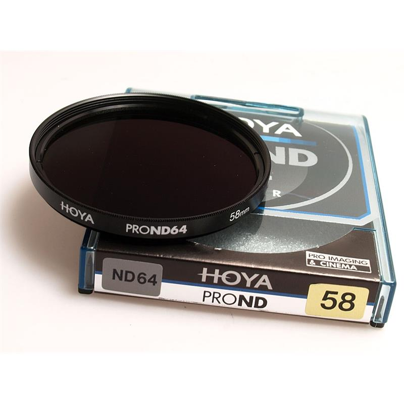 Hoya 58mm Pro ND64x Neutral Density Image 1