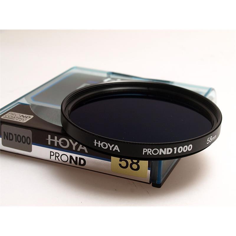 Hoya 58mm Pro ND1000x Neutral Density Image 1
