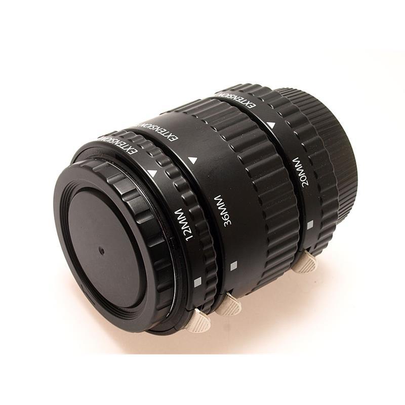 Xit Photo Extension Tube Set DG - Nikon Thumbnail Image 0
