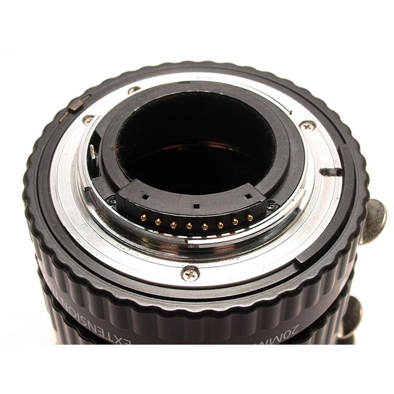 Xit Photo Extension Tube Set DG - Nikon Thumbnail Image 2