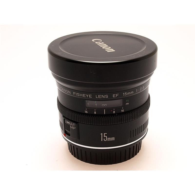 Canon 15mm F2.8 EF Fisheye Thumbnail Image 0