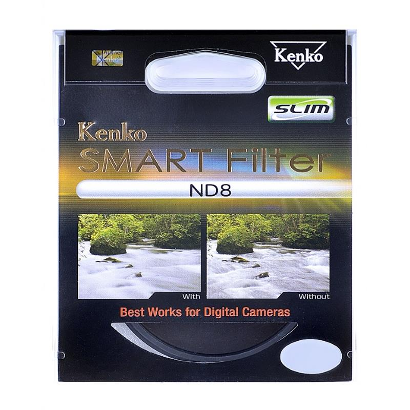 Kenko 37mm Neutral Density Smart Filter ND8 Image 1