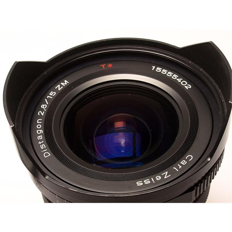 Zeiss 15mm F2.8 ZM - Black Thumbnail Image 1