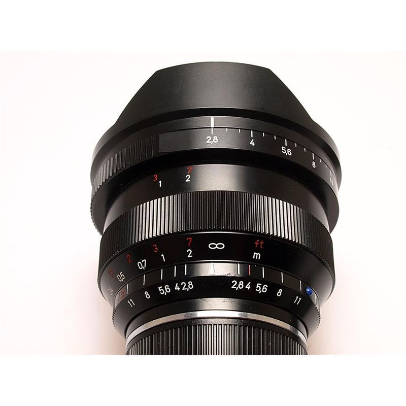 Zeiss 15mm F2.8 ZM - Black Thumbnail Image 3