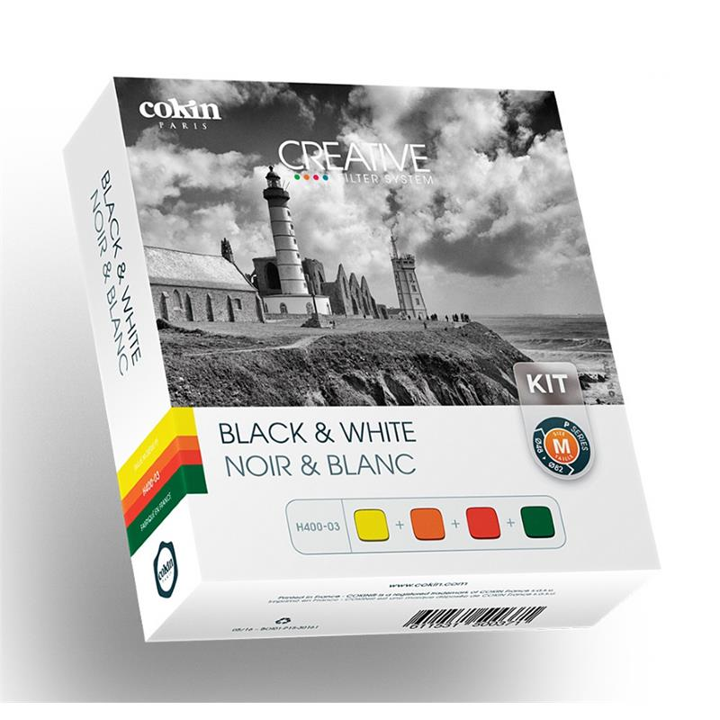 Cokin Black & White Kit (H400-03) - P Series (M) Image 1