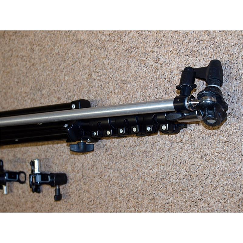 Bowens Lighting Stands + Reflecta Holder Thumbnail Image 2