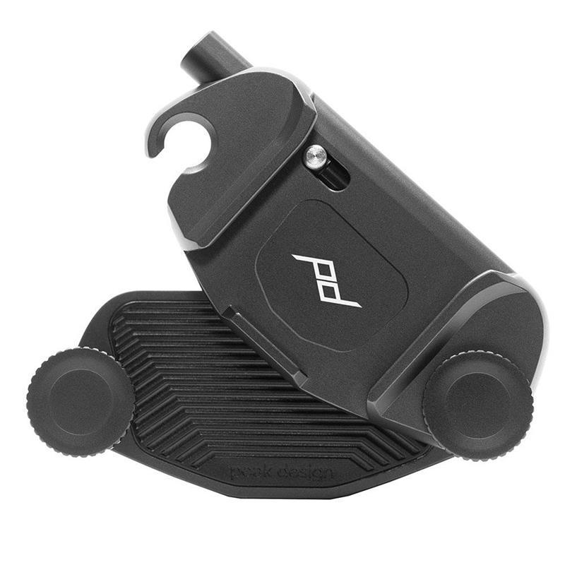 Peak Design Camera Clip V3 + Standard Plate - Black Thumbnail Image 1