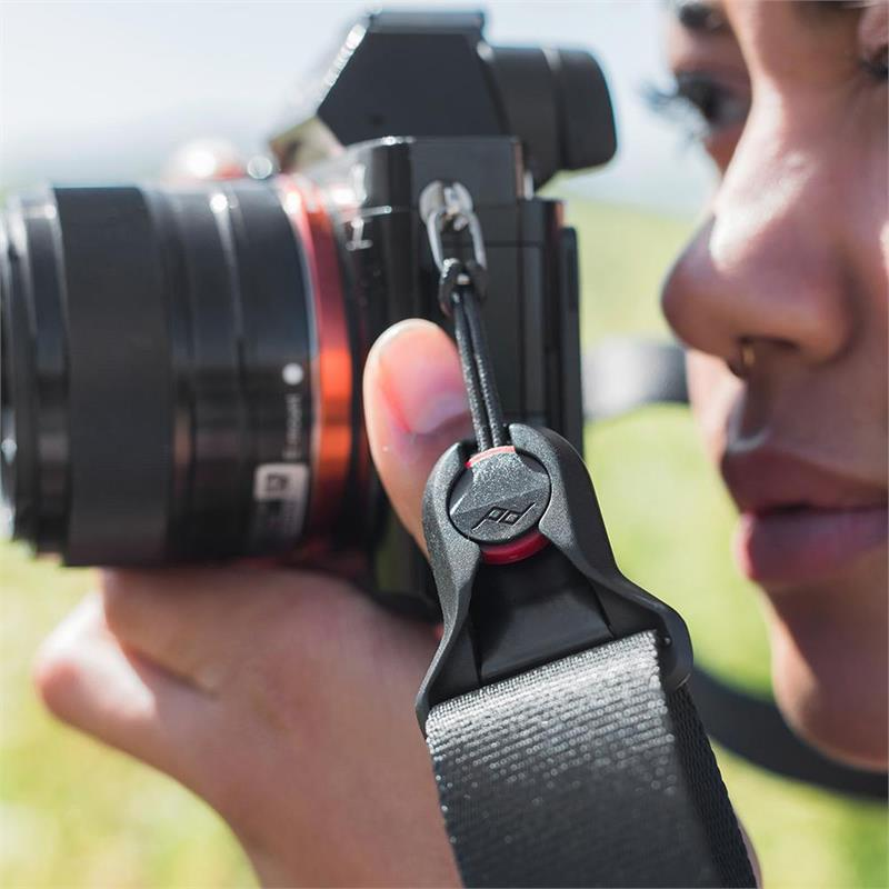 Peak Design Slide Lite Camera Strap - Black Thumbnail Image 2