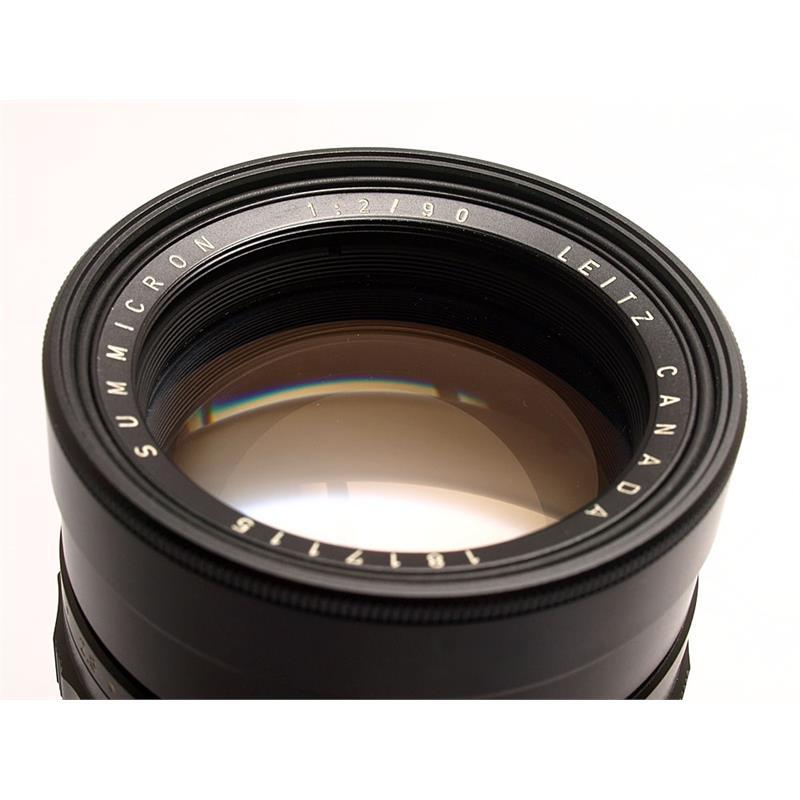 Leica 90mm F2 M Black Thumbnail Image 1