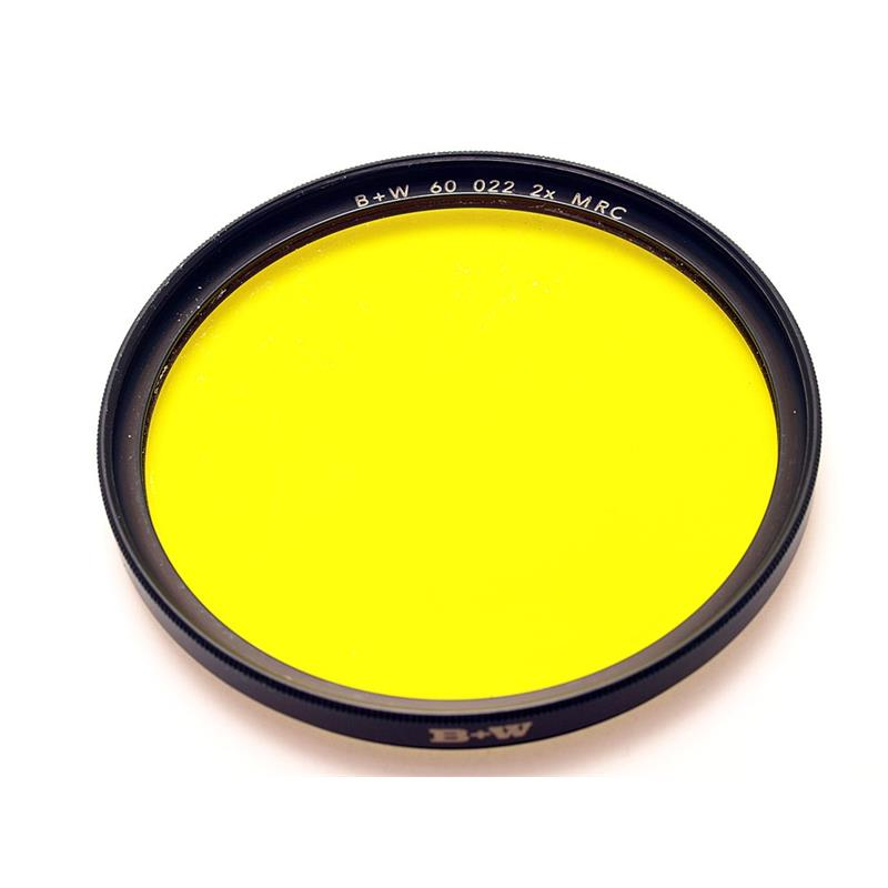B+W 60mm Yellow (022) - Multi Coated Image 1