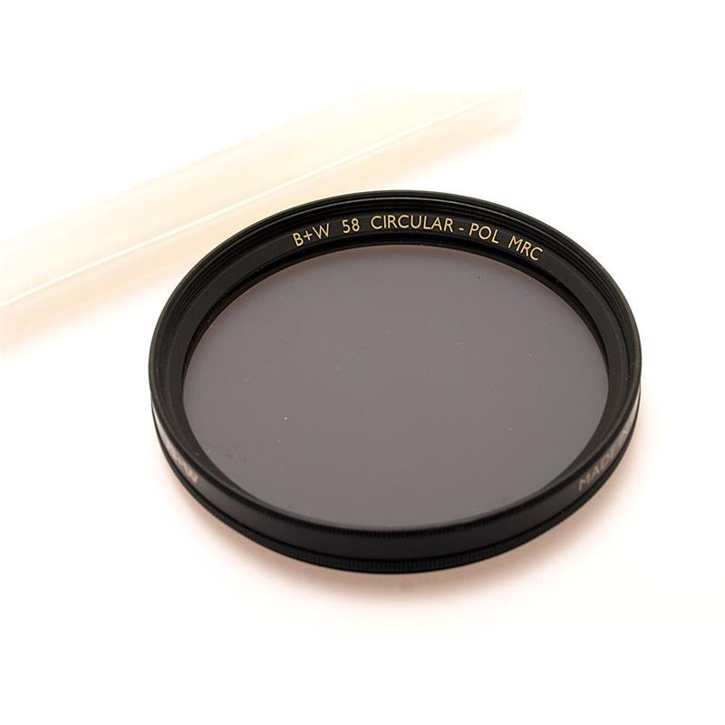 B+W 58mm Circular Polariser - Multi Coated Image 1