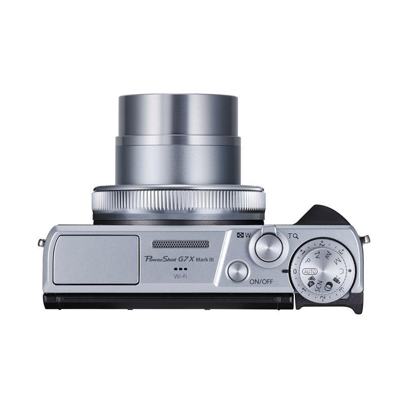 Canon PowerShot G7X III - Silver Thumbnail Image 2