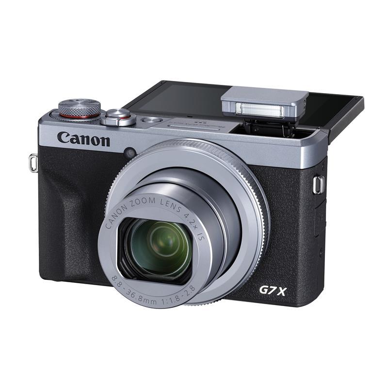 Canon PowerShot G7X III - Silver Thumbnail Image 1