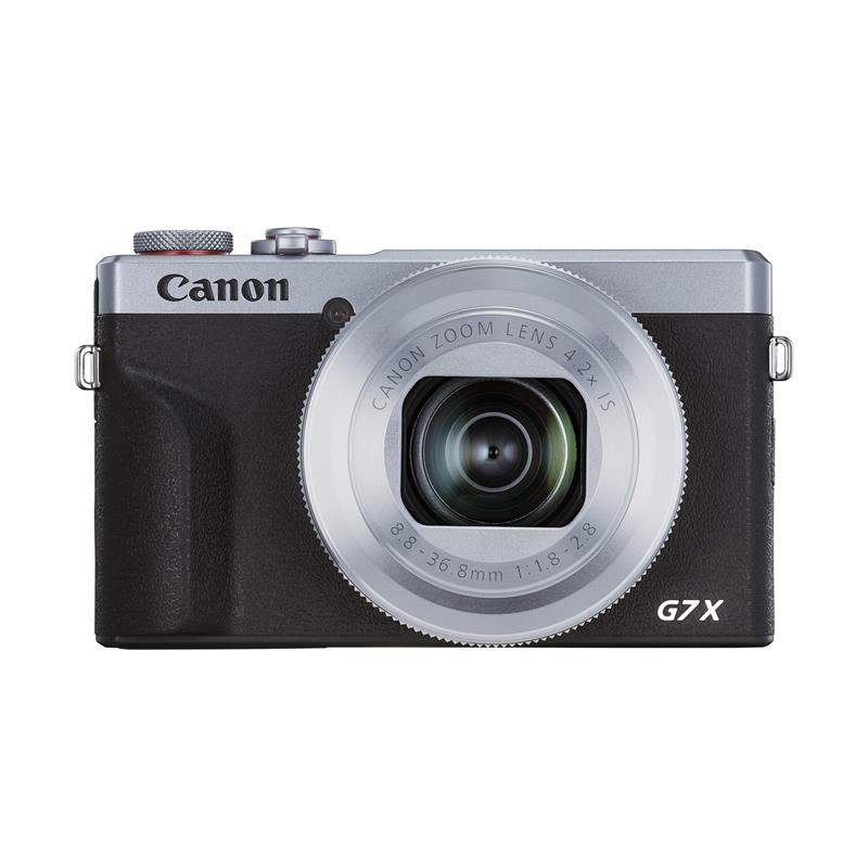 Canon PowerShot G7X III - Silver Thumbnail Image 0