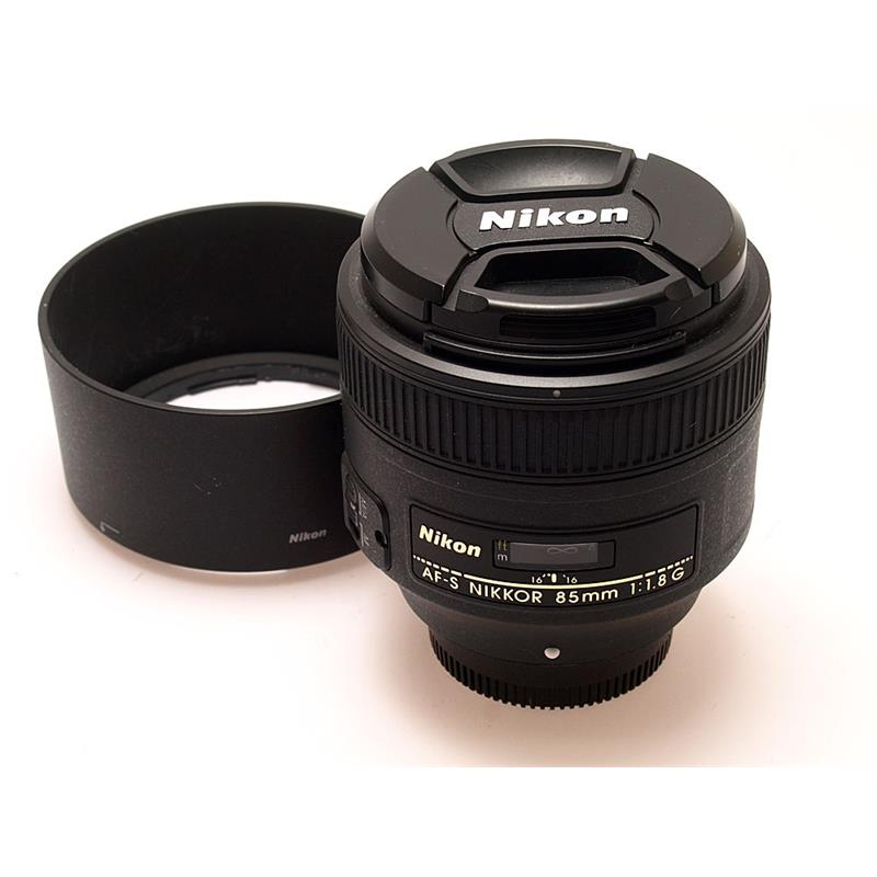 Nikon 85mm F1.8 AF-S G Thumbnail Image 0